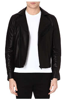 ACNE Gibson Clean leather biker jacket