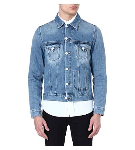 ACNE STUDIOS Jam vintage-style denim jacket (Indigo