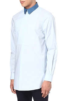 ACNE Filafil logan removable-collar shirt