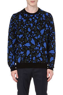 ACNE Mayero jacquard-knit wool jumper