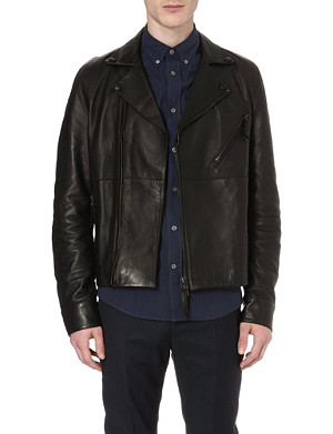 ACNE Oscar leather biker jacket
