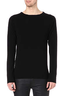 ACNE River boat-neck jumper