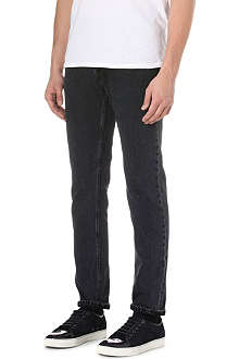 ACNE Roc Appeal Grainy slim-fit straight jeans