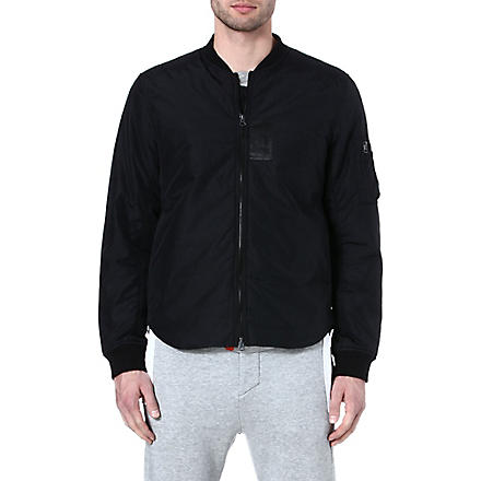 ACNE Nylon bomber jacket (Black