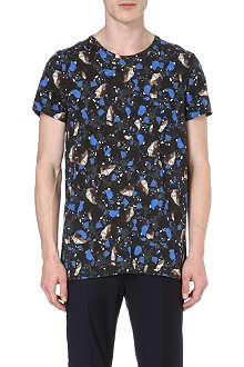 ACNE Terazzo-print cotton t-shirt