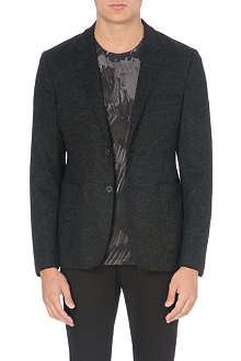 ACNE Stan raw jersey blazer
