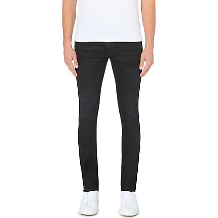ACNE Thin super-slim skinny jeans (Black