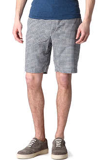 RAG & BONE Gingham chino shorts