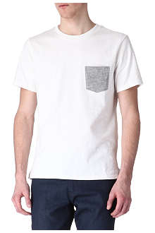 RAG & BONE Contrast pocket t-shirt