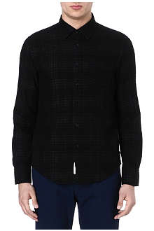 RAG & BONE Yokohama double-face check shirt