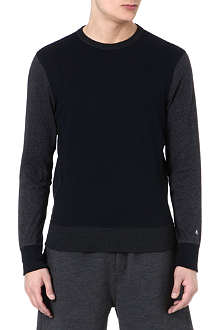 RAG & BONE Colorblock moulinex sweatshirt