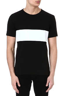 RAG & BONE Printed stripe t-shirt