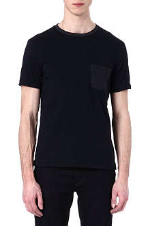 RAG & BONE Colourblock pocket t-shirt