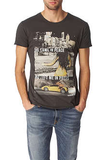 DEATH BY ZERO She Came In Peace t-shirt