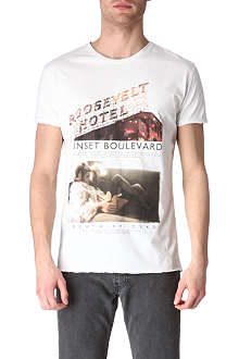 DEATH BY ZERO Sunset Boulevard t-shirt