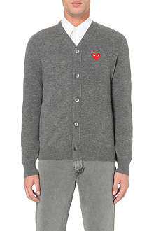 COMME DES GARCONS PLAY PLAY heat cardigan