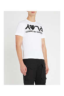COMME DES GARCONS PLAY Logo-print t–shirt