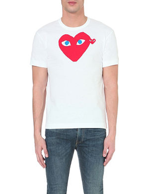 COMME DES GARCONS PLAY Heart logo t-shirt