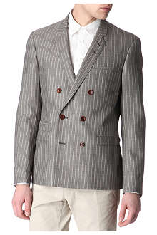 TIGER OF SWEDEN Brook double-breasted pinstripe blazer
