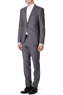 TIGER OF SWEDEN Evert grey stretch-wool suit