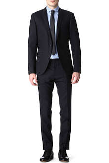 TIGER OF SWEDEN Evert navy stretch-wool suit