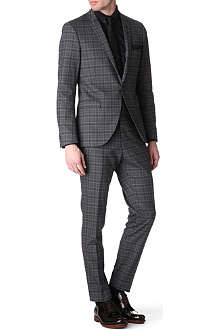 TIGER OF SWEDEN Evert checked suit