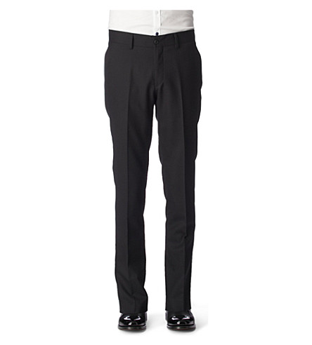 TIGER OF SWEDEN Herris trousers (Black
