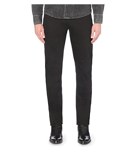TIGER OF SWEDEN Iggy slim-fit straight jeans (Black