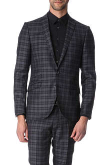 TIGER OF SWEDEN Nedvin checked blazer