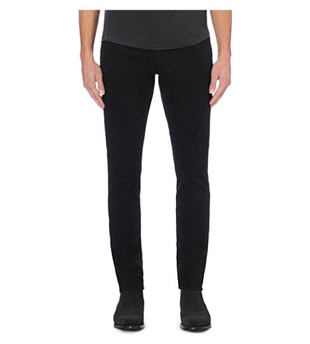 TIGER OF SWEDEN Pistolero slim-fit tapered jeans (Darkened