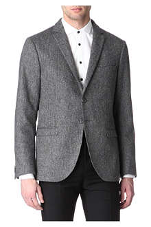 TIGER OF SWEDEN Ruben dappled wool blazer