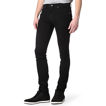 TIGER OF SWEDEN Sharp skinny-fit straight jeans (Darkened