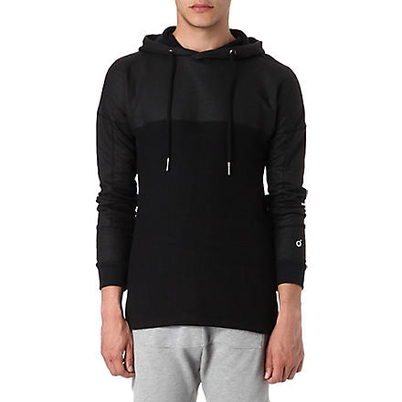 BLOOD BROTHER Blackness reverse hoody (Black