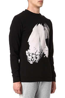 BLOOD BROTHER Burn print sweatshirt