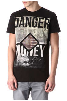 BLOOD BROTHER Danger Money cotton t-shirt
