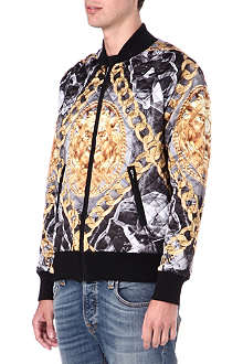 BLOOD BROTHER Dante quilted bomber jacket