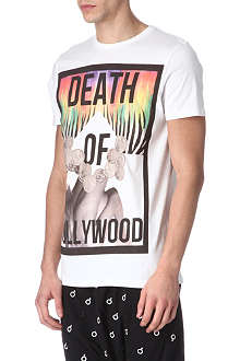 BLOOD BROTHER Death of Hollywood cotton t-shirt