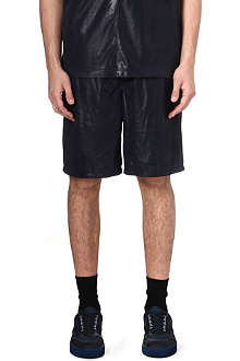 BLOOD BROTHER Suede shorts