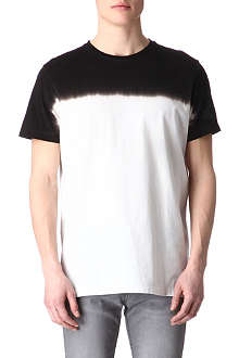 BLOOD BROTHER Colour-fade t-shirt
