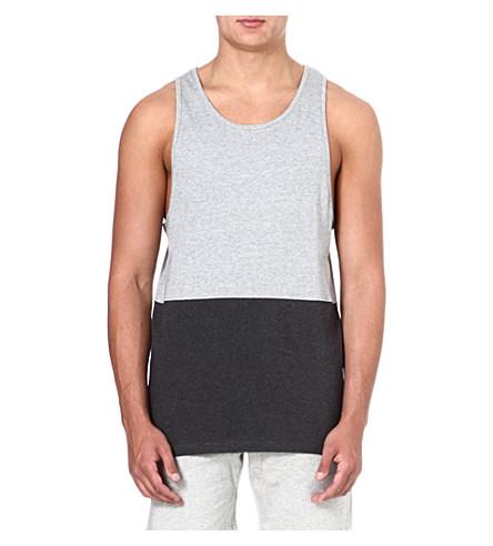 BLOOD BROTHER Figures vest (Grey/black