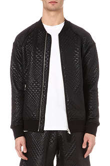 BLOOD BROTHER Gator quilted bomber jacket
