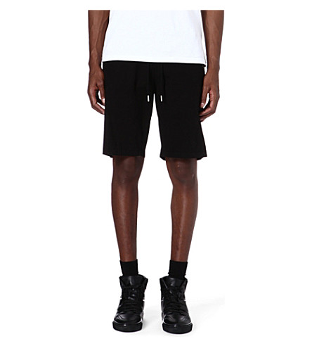 BLOOD BROTHER Drawstring shorts (Black