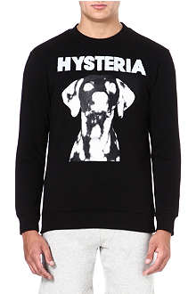 BLOOD BROTHER Hysteria dog-print sweatshirt