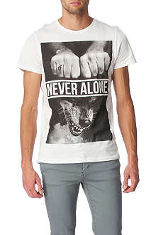 BLOOD BROTHER Never Alone t-shirt
