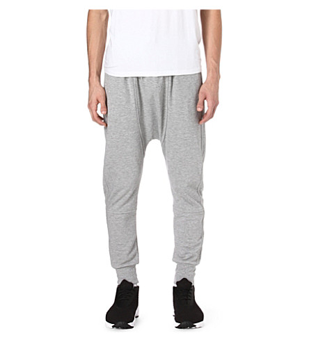 BLOOD BROTHER Jersey jogging bottoms (Grey