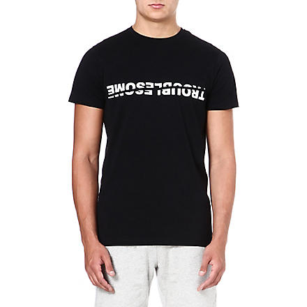 BLOOD BROTHER Troublesome t-shirt (Black