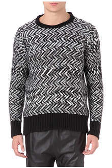 BLOOD BROTHER Weave knitted jumper