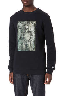 BLOOD BROTHER Baron zombie bride sweater