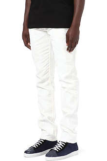 MCQ ALEXANDER MCQUEEN Painted slim-fit straight jeans