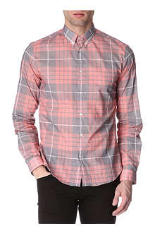 MCQ ALEXANDER MCQUEEN Washed-check shirt